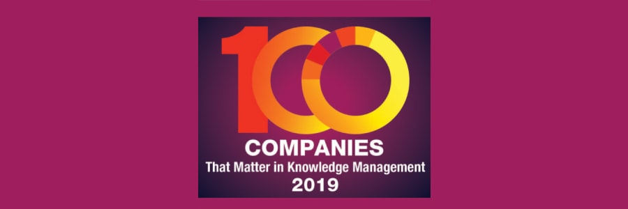 Process Director named in KMWorld's 100 Companies That Matter in Knowledge Management 2019