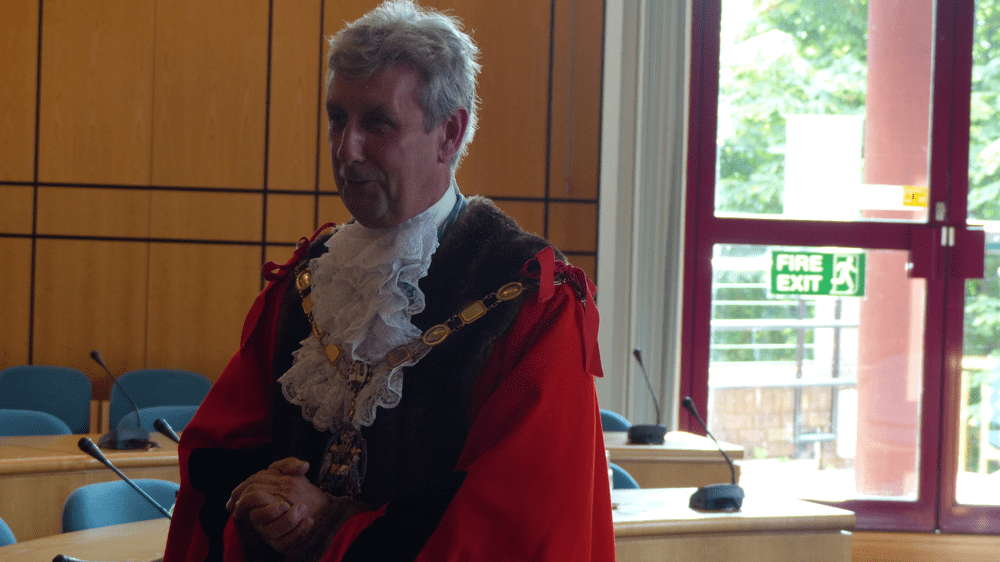 Councilor Bob Paton, Mayor of Surrey Heath
