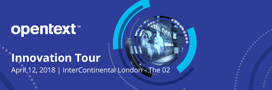 Join ePC on the OpenText Innovation Tour in London